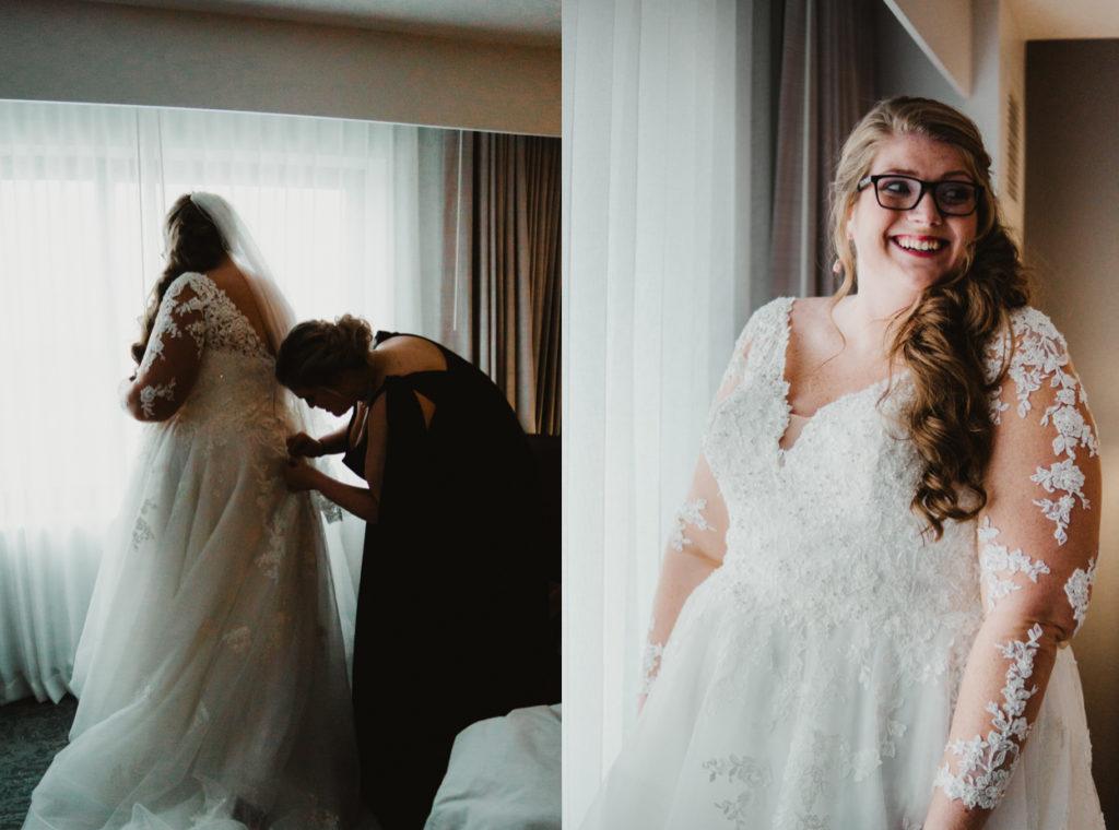 The Baronette Renaissance Hotel Novi MI Wedding 1