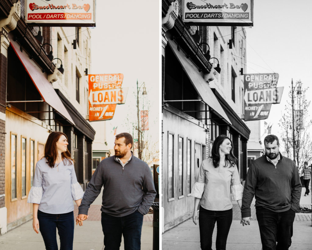 Corktown Detroit Engagement Session
