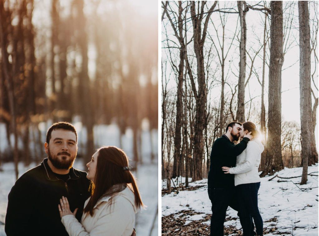Maybury State Park Engagement Session