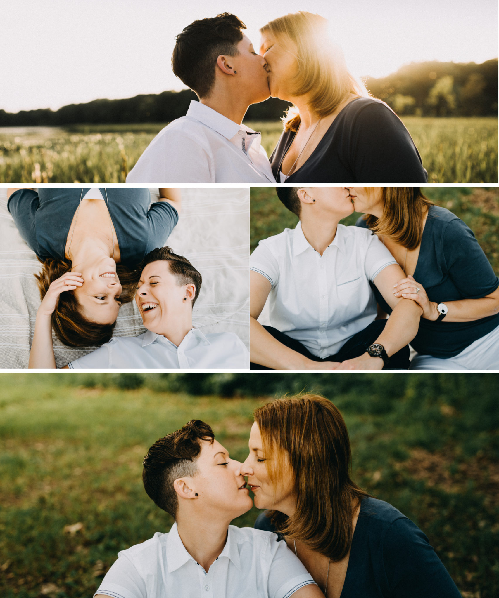 kensington metropark engagement session