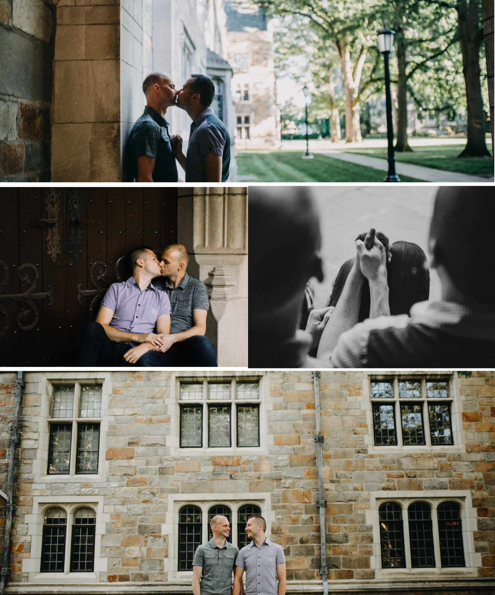 Ann Arbor Engagement session LGBT engagement session