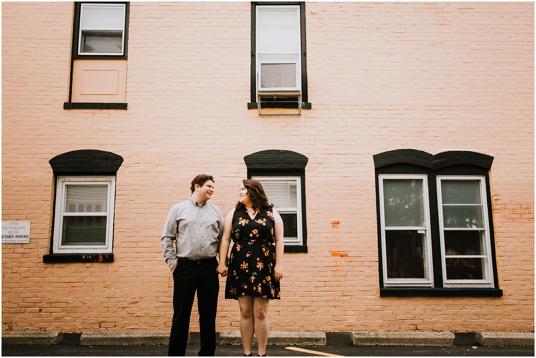 Downtown Rochester Engagement Session Summer