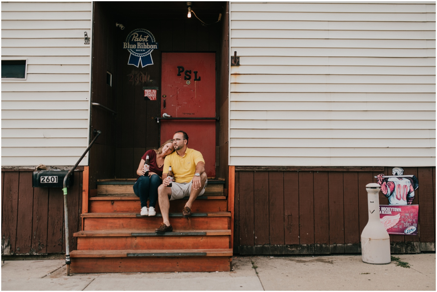Hamtramck Engagement Session