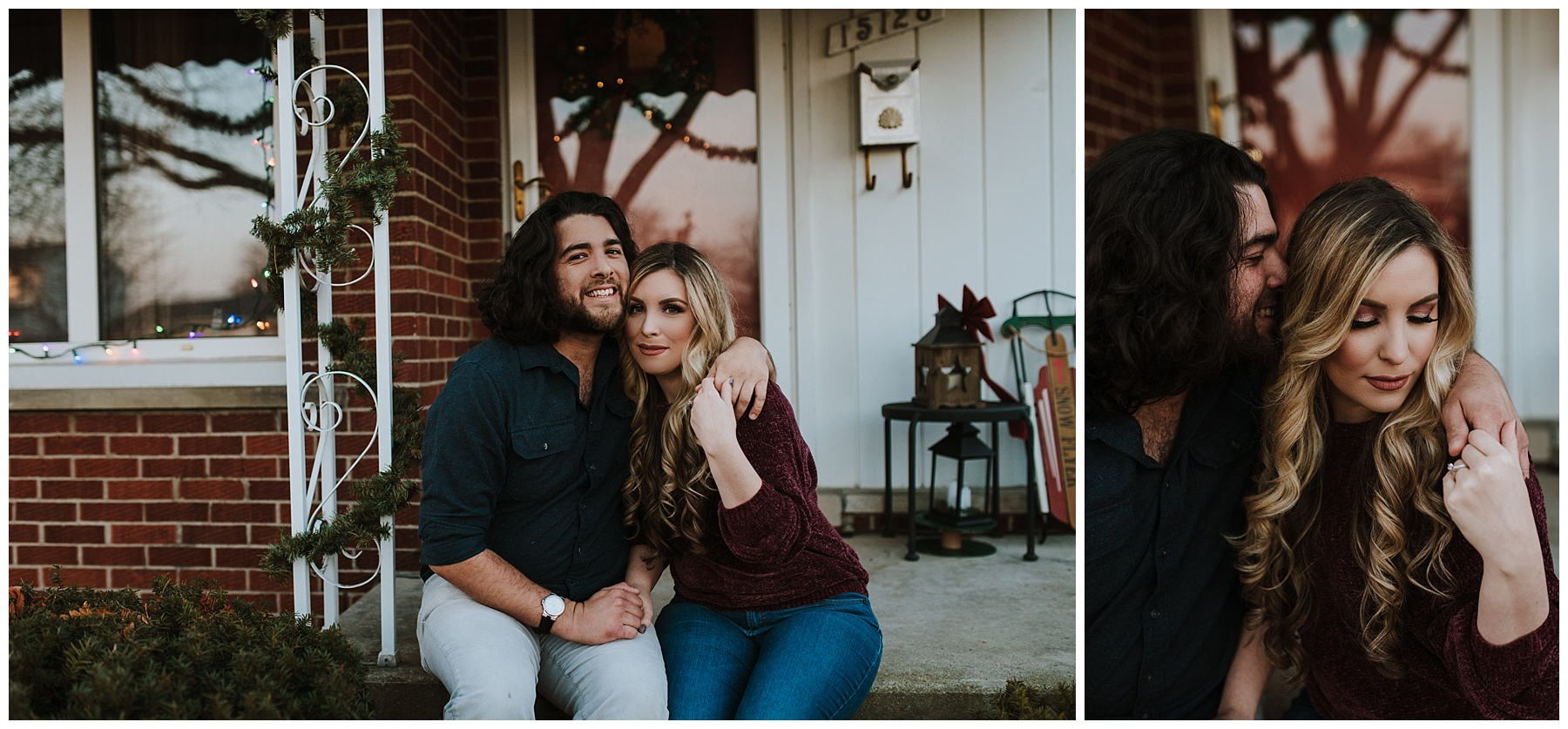 Downtown Wyandotte Engagement session