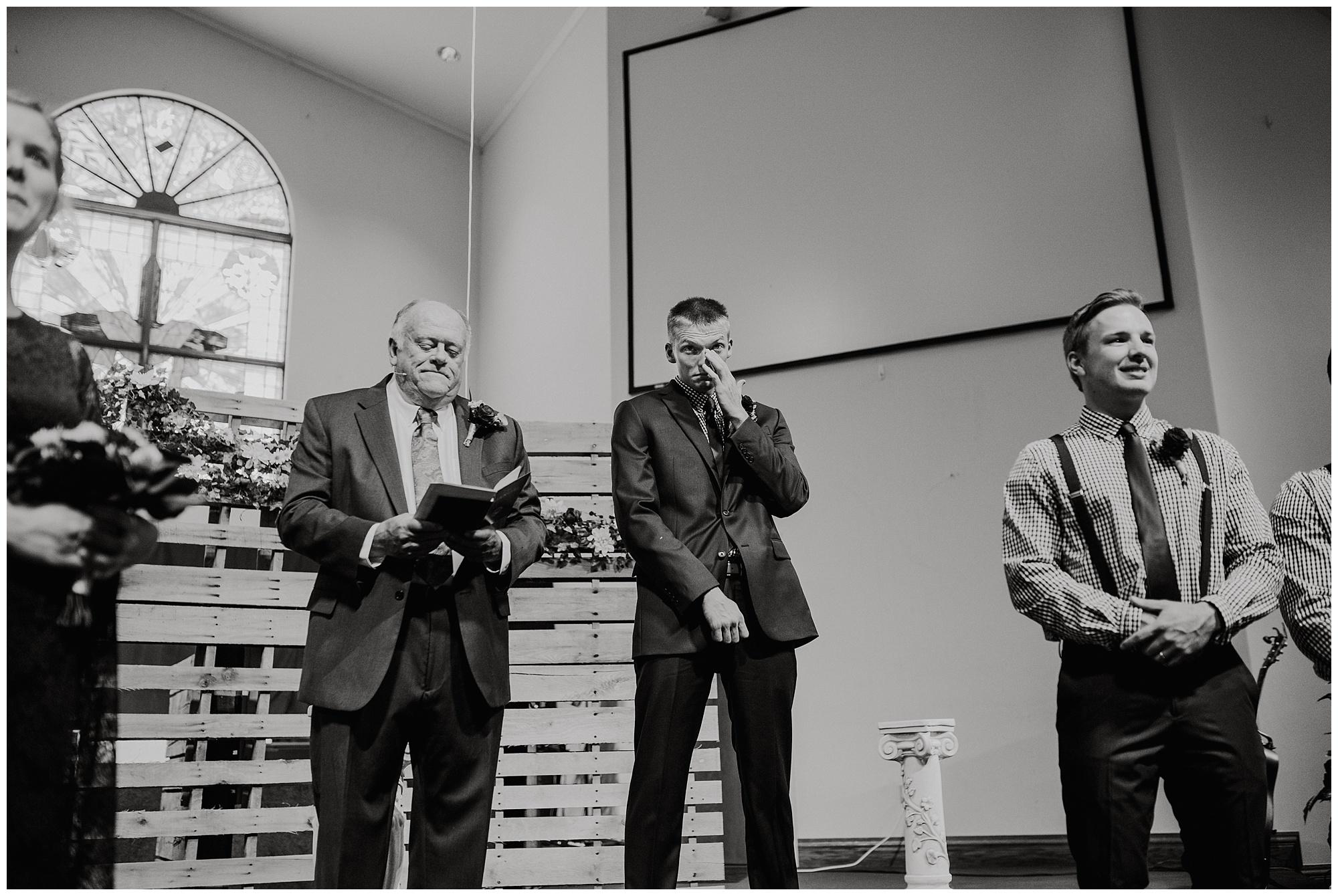 First Nazarene Church of Adrian Wedding