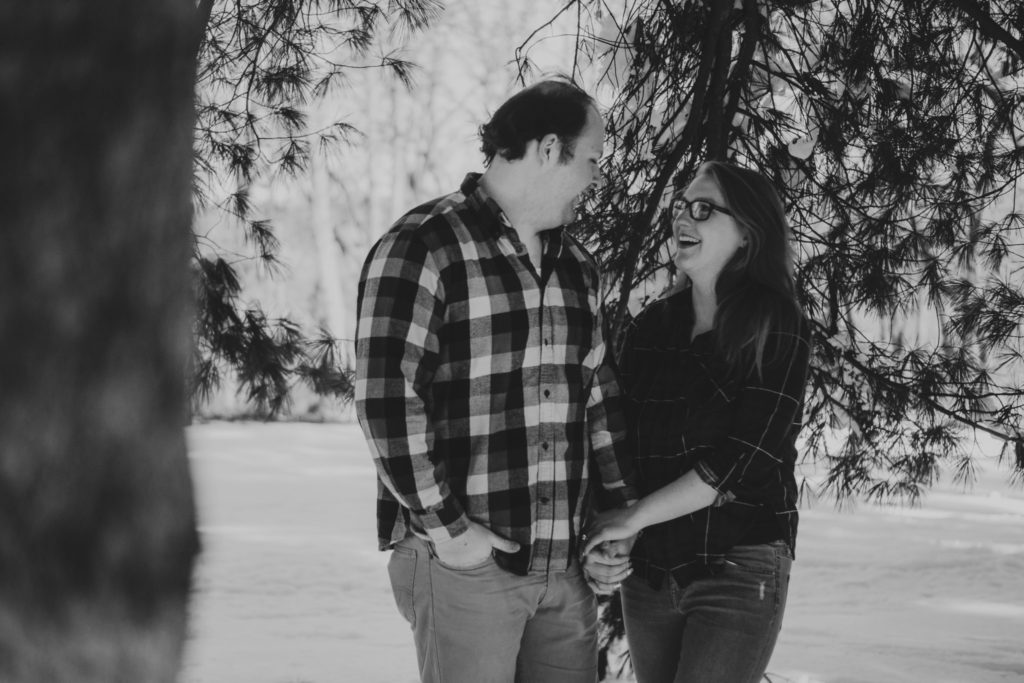 Nichols Arboretum Ann Arbor Engagement Session